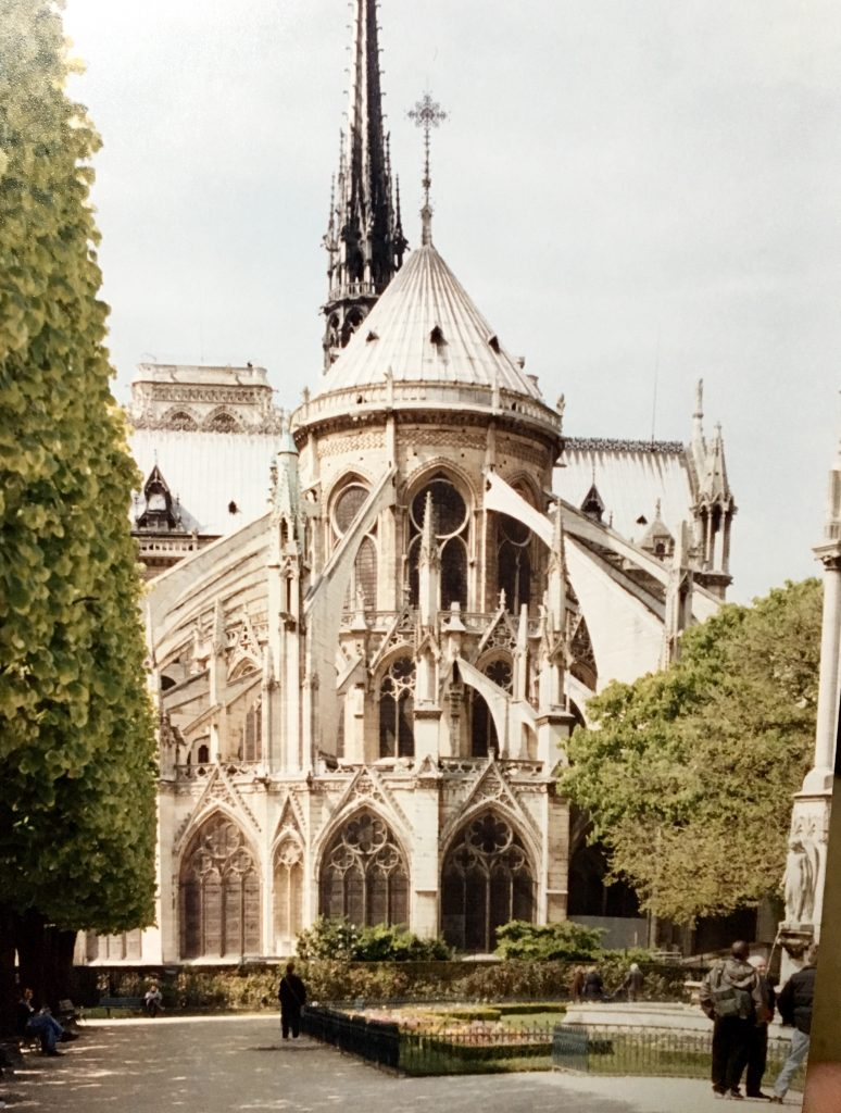 First photo of Notre-Dame, Paris, France