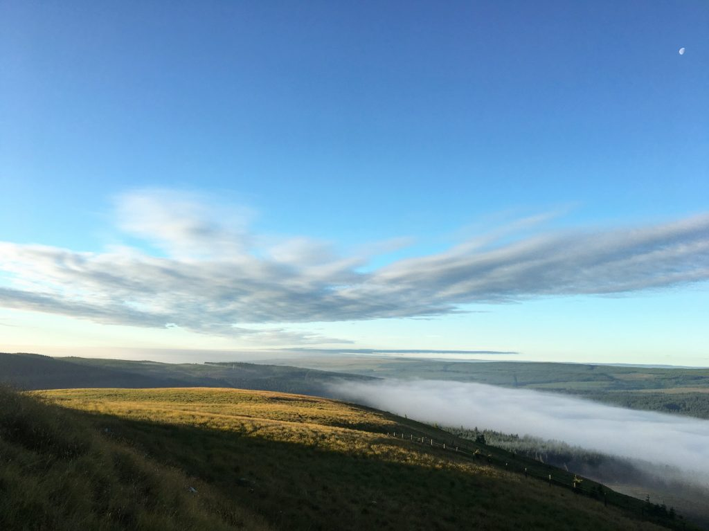 Above the tree-line, Day 15 on the Pennine Way