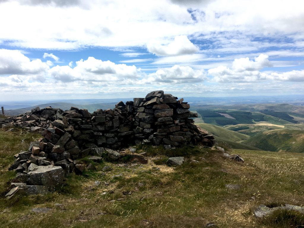 Auchope Cairn, Day 15 on the Pennine Way