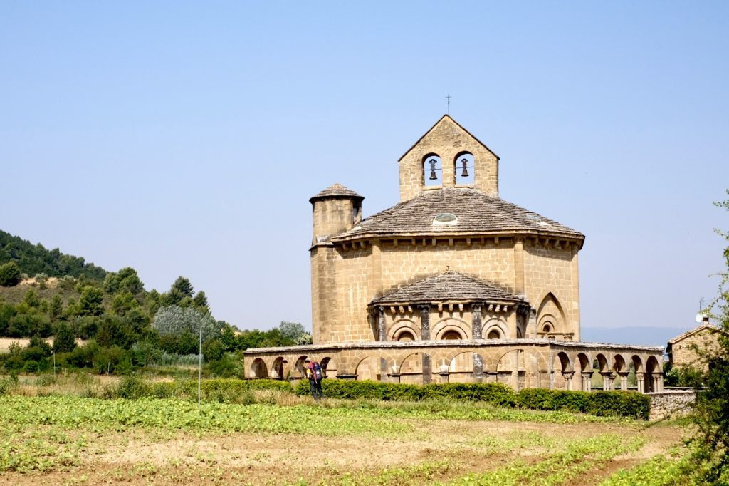 Church of Santa Maria de Eunate, Camino Aragones