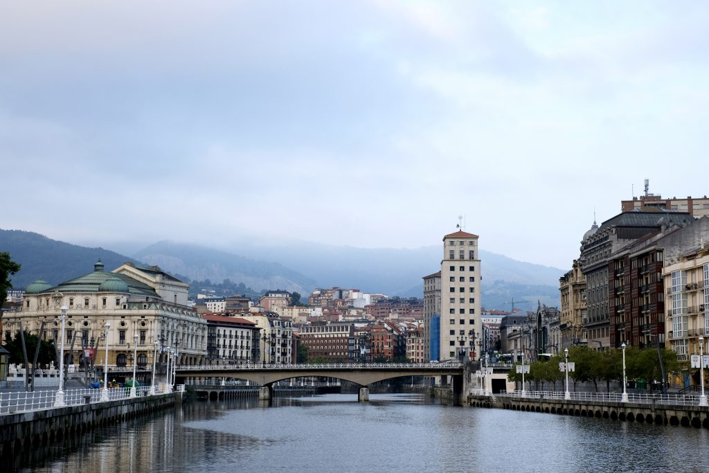 Walk out of Bilbao on the Camino del Norte