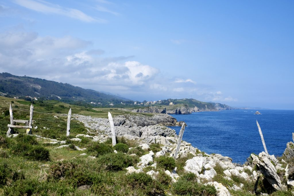 Alternate coastal path to Pendueles, Camino del Norte
