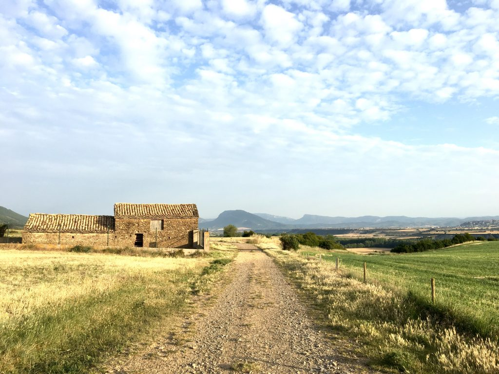 Walking the Camino Aragones