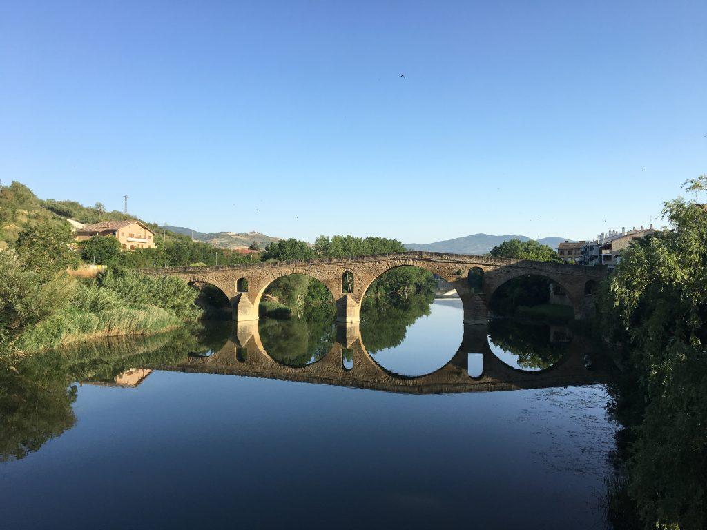 Puente la Reina, Camino Francés and Aragonés