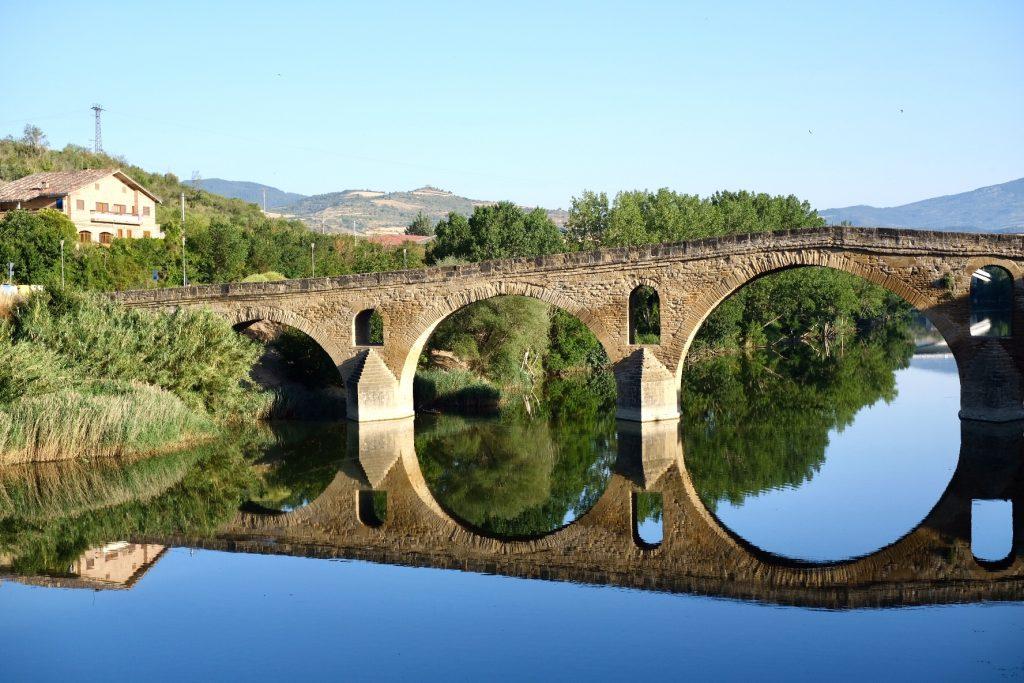 Bridge, Puente La Reina, Camino Aragones and Camino De Santiago