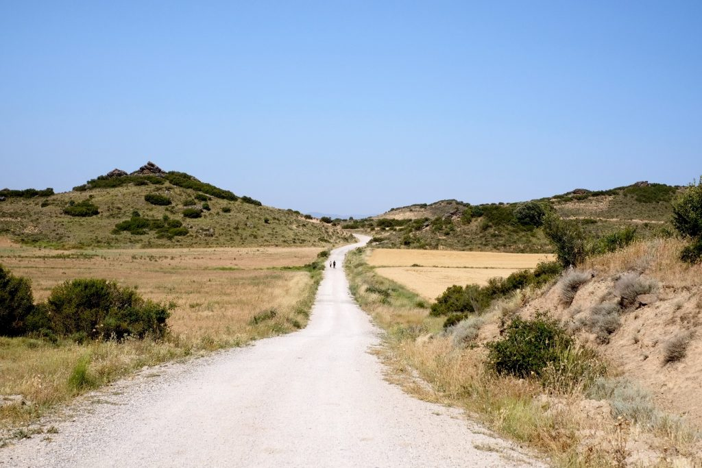 Path of the Camino Aragonés