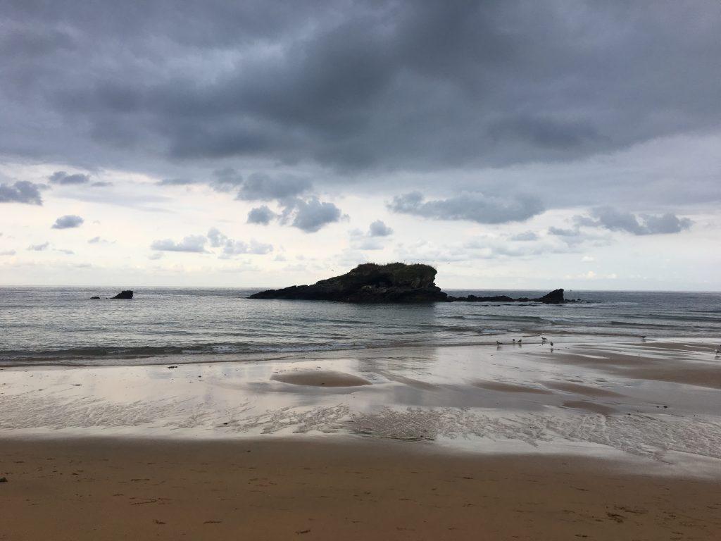 La Isla beach, Camino del Norte