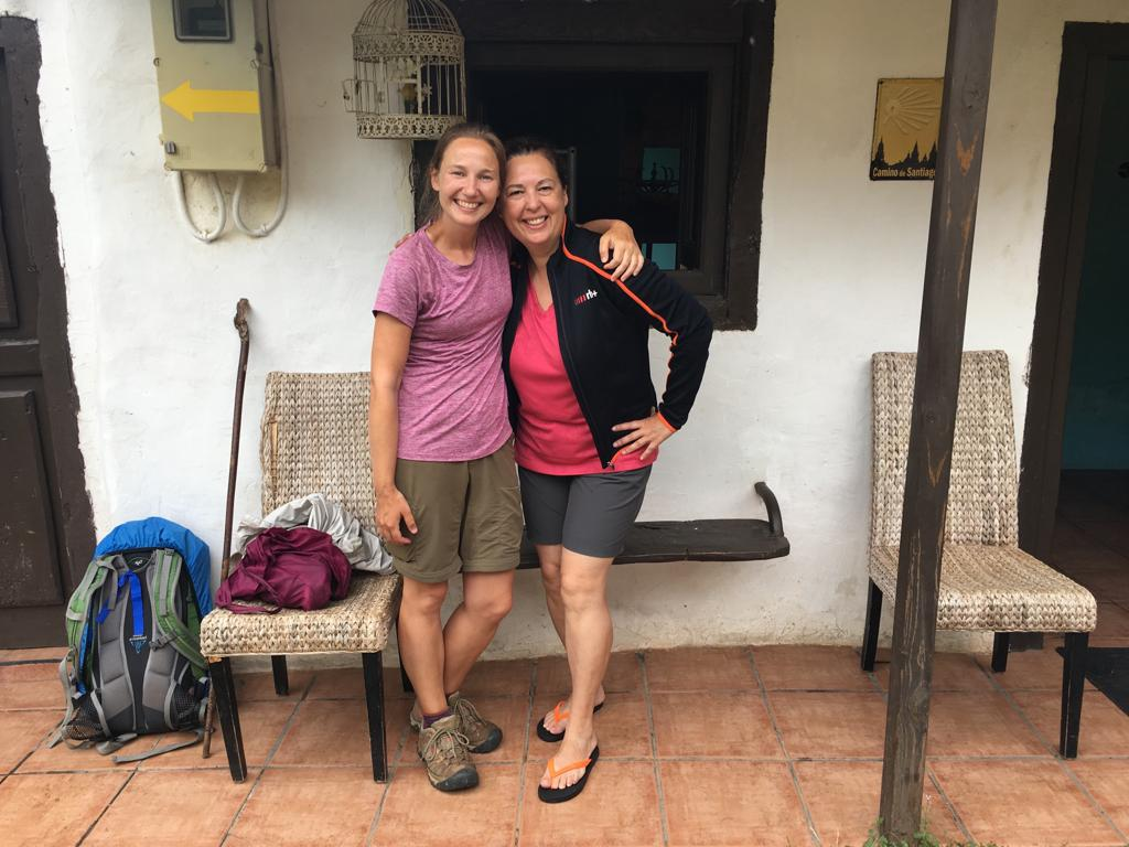 Reunion with Beatriz on the Camino del Norte