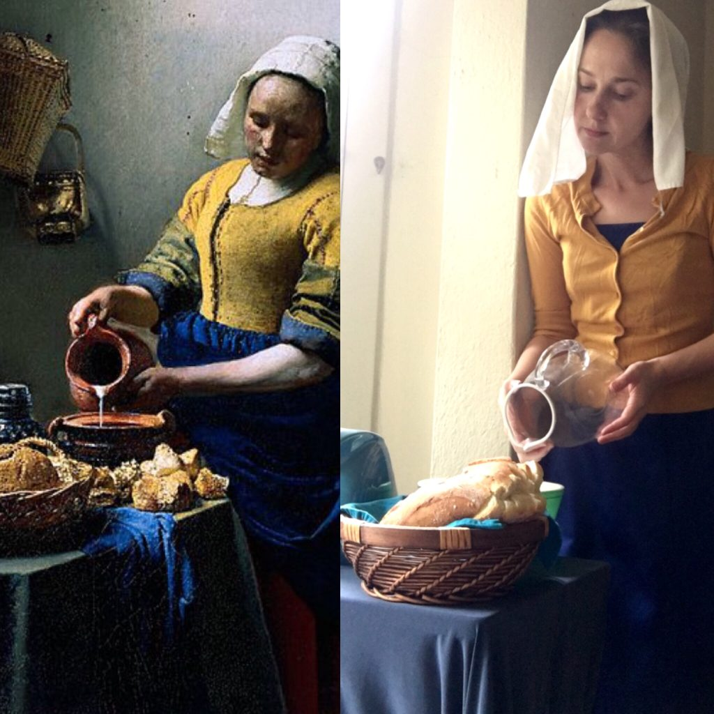 Art in Quarantine: Vermeer