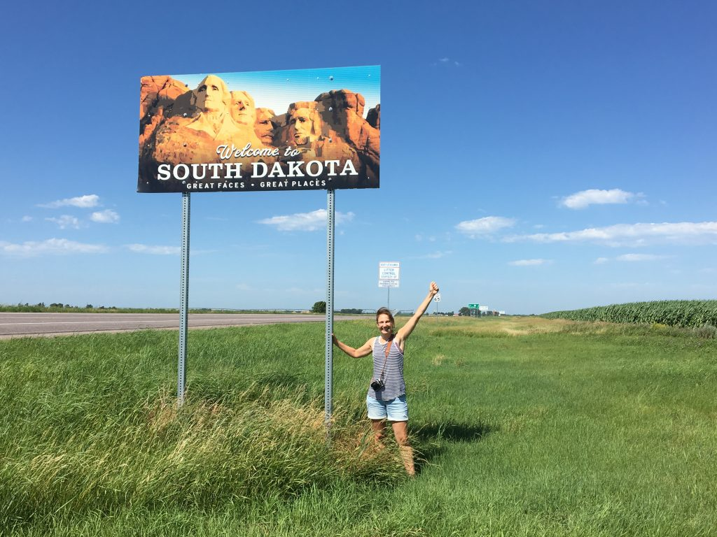 Crossing into South Dakota