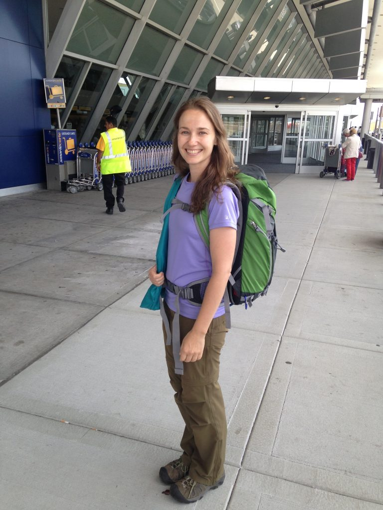 Leaving home for my first Camino