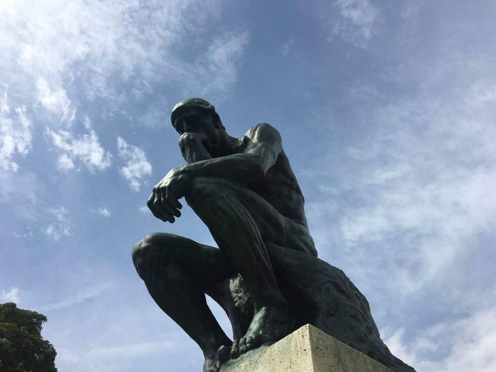 The Thinker, Musée Rodin, Paris