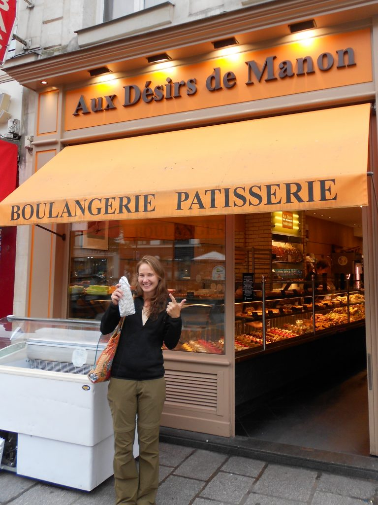 hunting down the best baguettes in Paris, Aux Desirs de Manon
