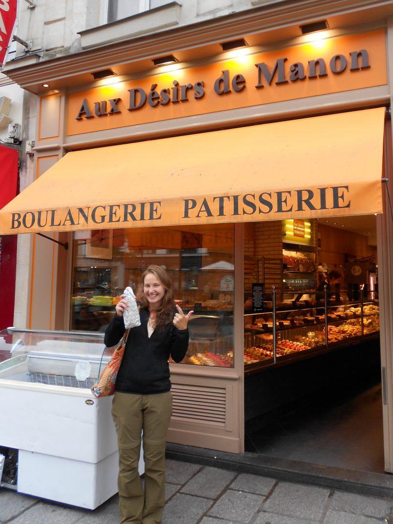 hunting down the best baguettes in Paris, Aux Desirs de Manon