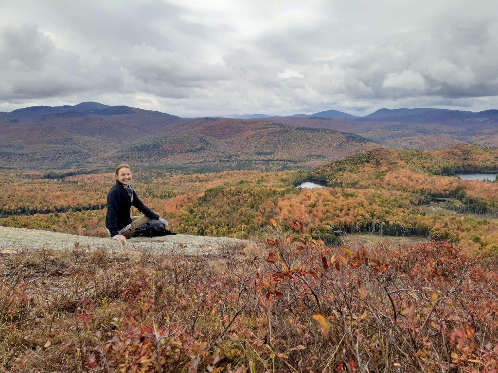 Summit of Moxham Mountain, NY