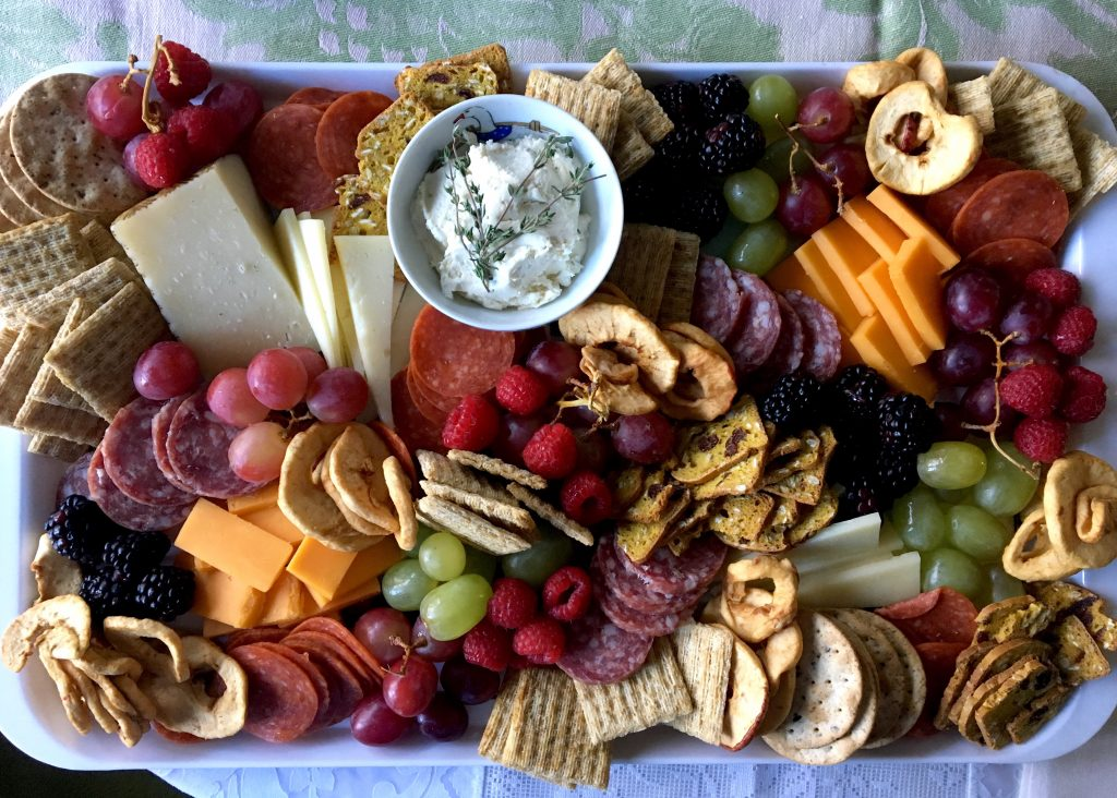 Thanksgiving cheeseboard
