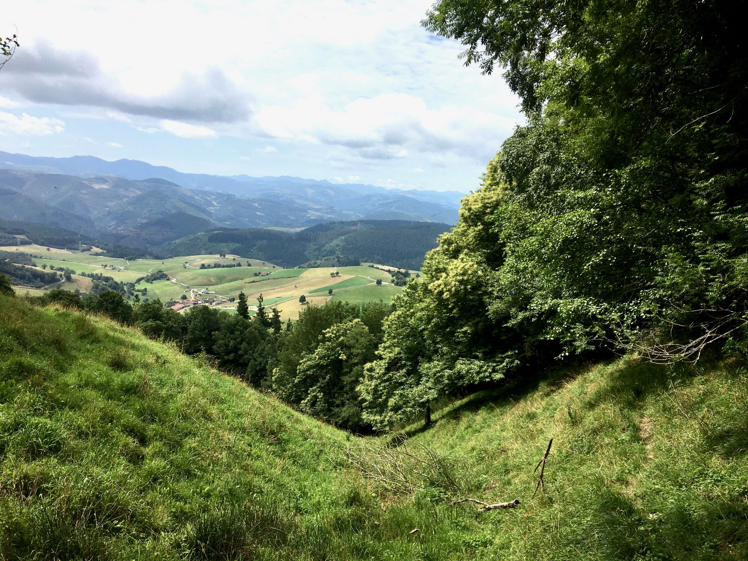 View after Tineo on the Camino Primitivo