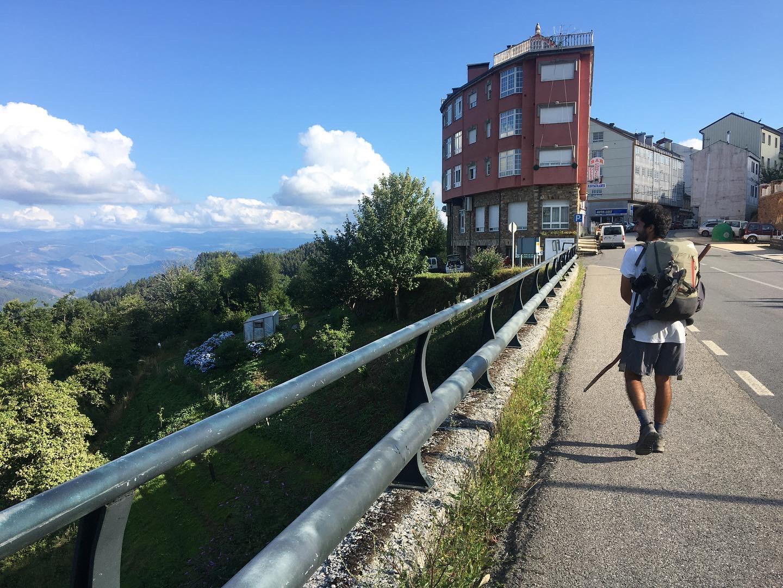 Entering A Fonsagrada, Day 5 on the Camino Primitivo