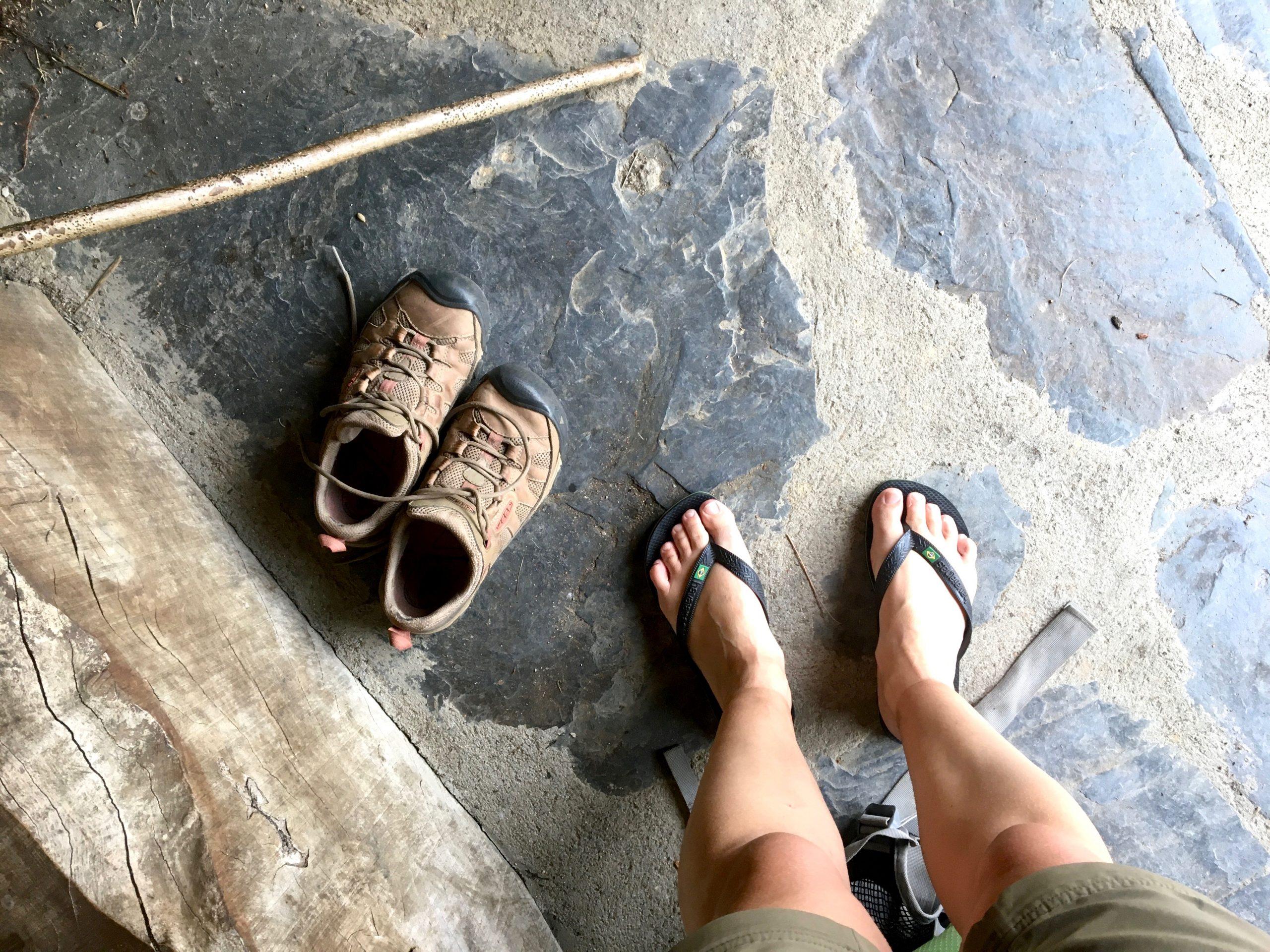 Tired feet, Camino Primitivo