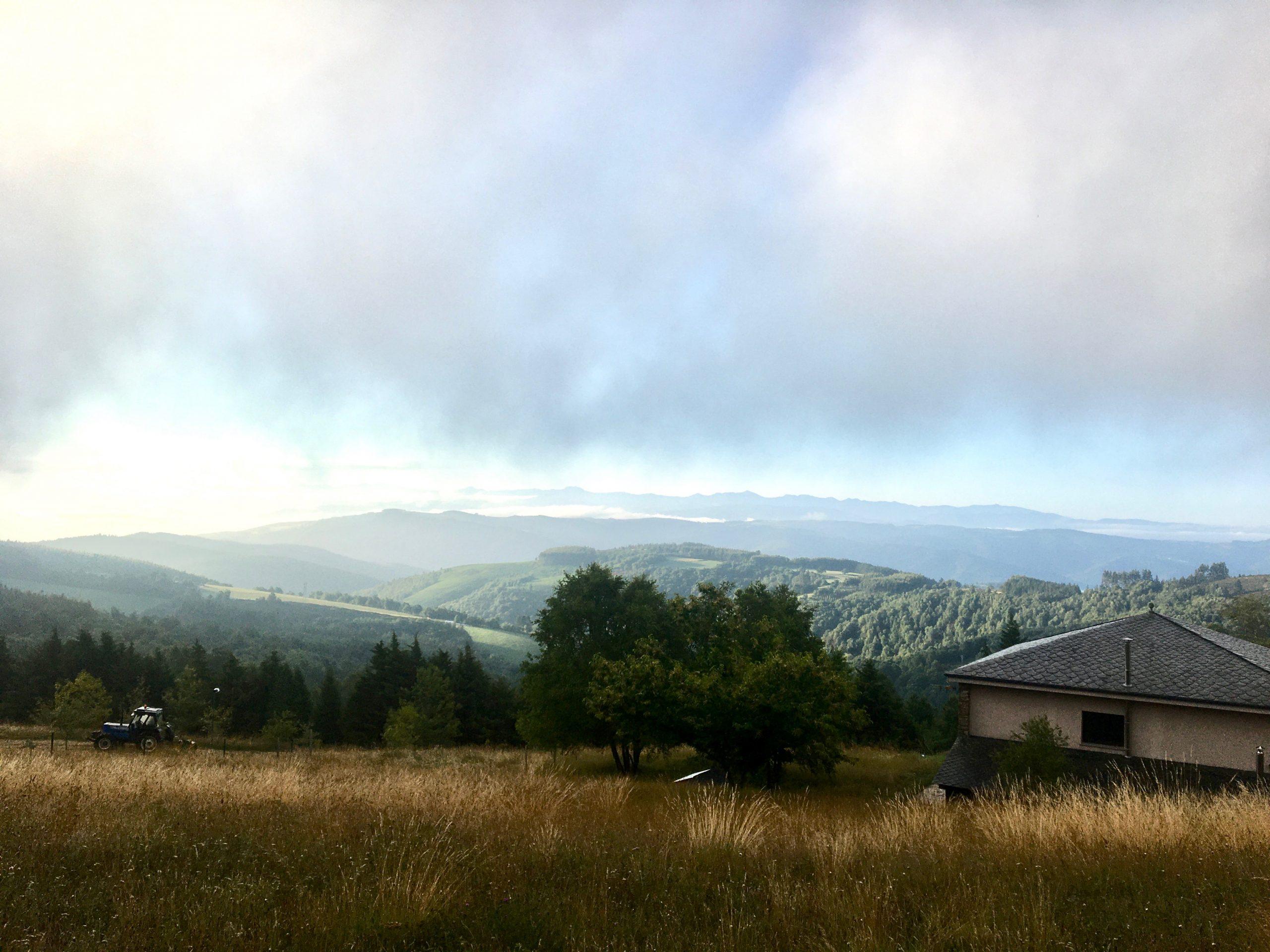 Morning light, Day 6 on the Camino Primitivo
