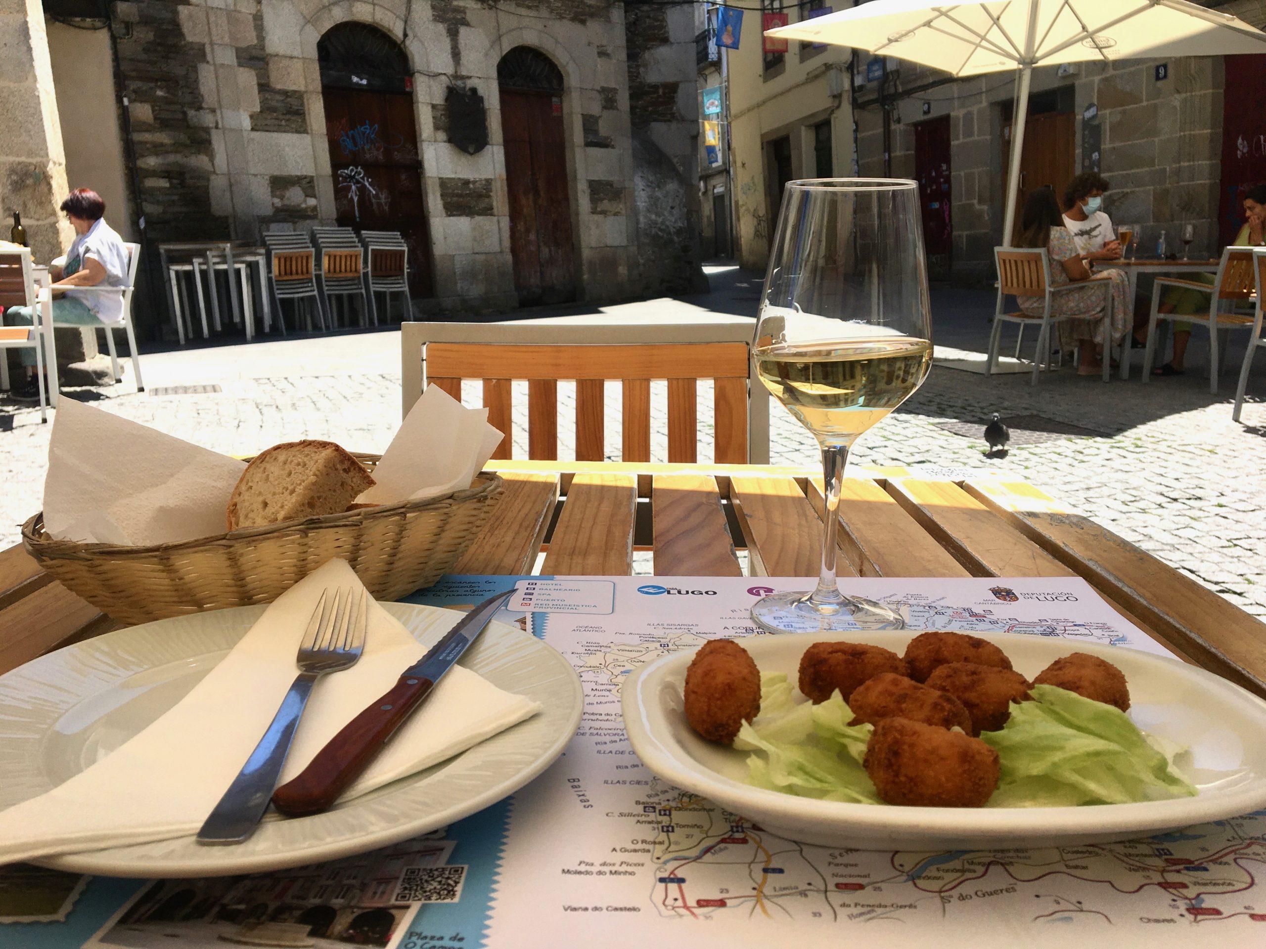 Menu del dia in Lugo, Camino Primitivo