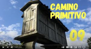 Day 9 on the Camino Primitivo YouTube video